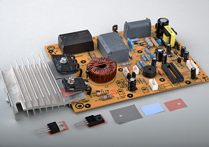 导热硅胶绝缘片-TC900S-TC1200,散热绝缘片,绝缘片厂家,导热硅胶