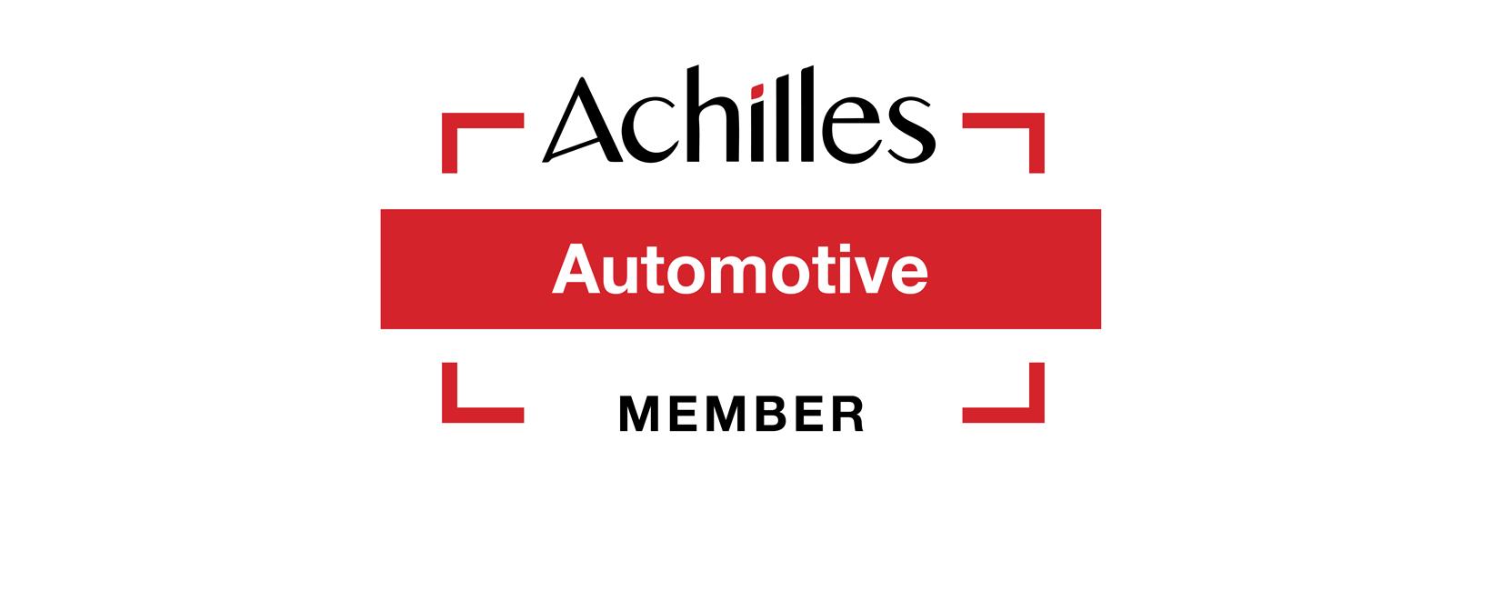 AOK加入Achilles Automotive并获得批准的供应商地位