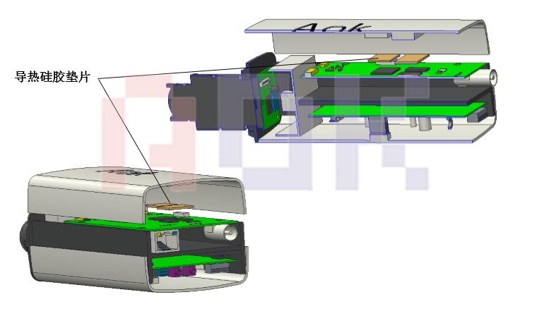 主要发热芯片功率及导热界面材料的选型-A板