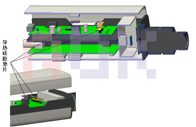 主要发热芯片功率及导热界面材料的选型-电源板